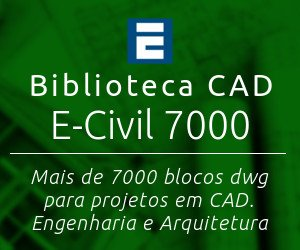 Biblioteca CAD E-Civil 7000